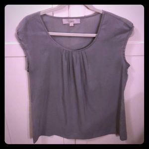 LOFT grey dress shell